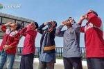 Jurusan Astronomi Islam Gelar Pengamatan Gerhana Matahari Parsial di Observatorium Ilmu Falak IAIN Lhokseumawe